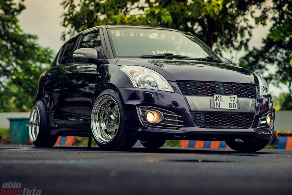 Maruti Suzuki Swift Modified India Loose Nuts Modifiedx