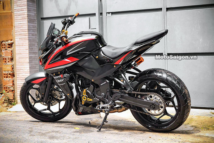 Modified Pulsar NS 200 to Z1000