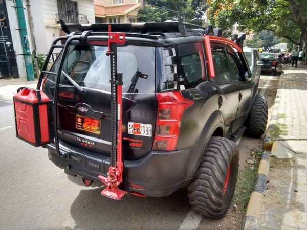 Bangalore modified XUV500