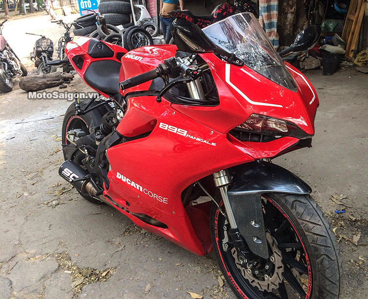 Modified Benelli TNT 300 tp Panigale