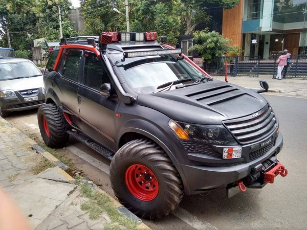 Modified Mahindra XUV 500