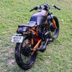 Yamaha RX 135 modifications