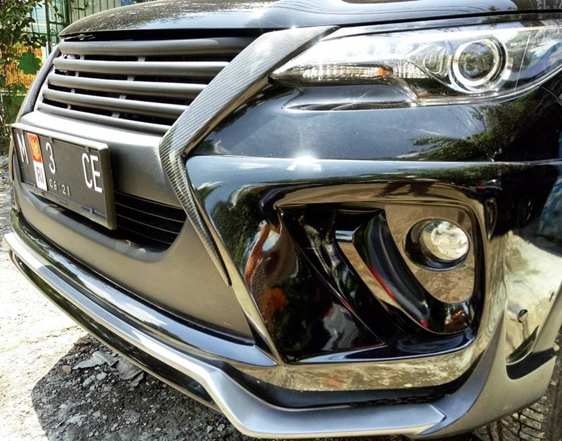 2017 Toyota Fortuner Modified