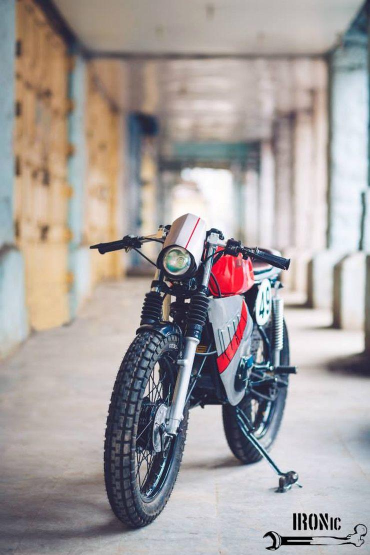 Modified Yamaha RX100 Cafe