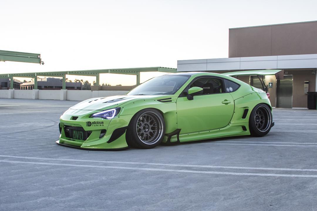 MOdified GT86 Toyota