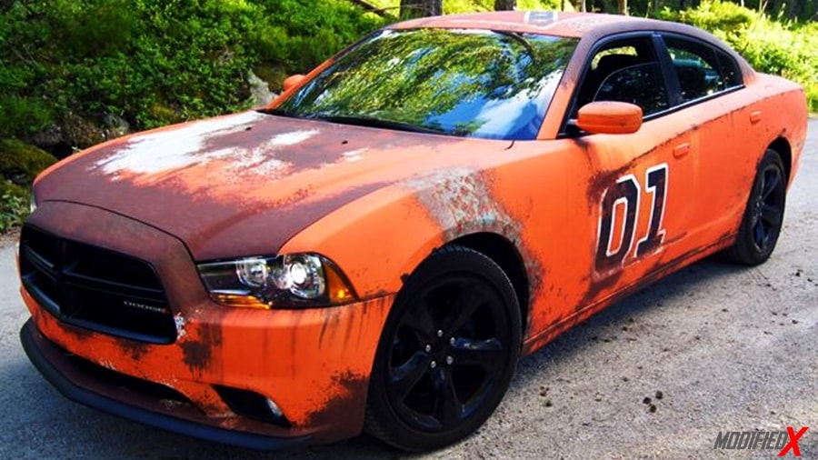 Custom built Dodge charger general lee