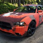Ford Charger Rust wrap