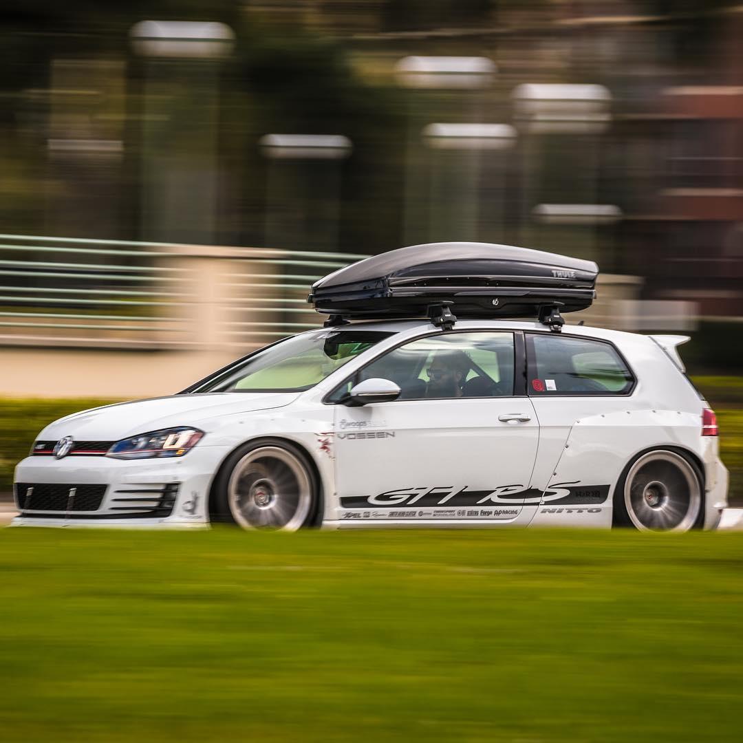VW Golf GTI RS Rocket bunny mod