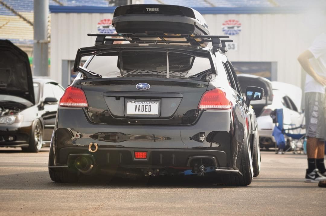 Custom Subaru WRX rear