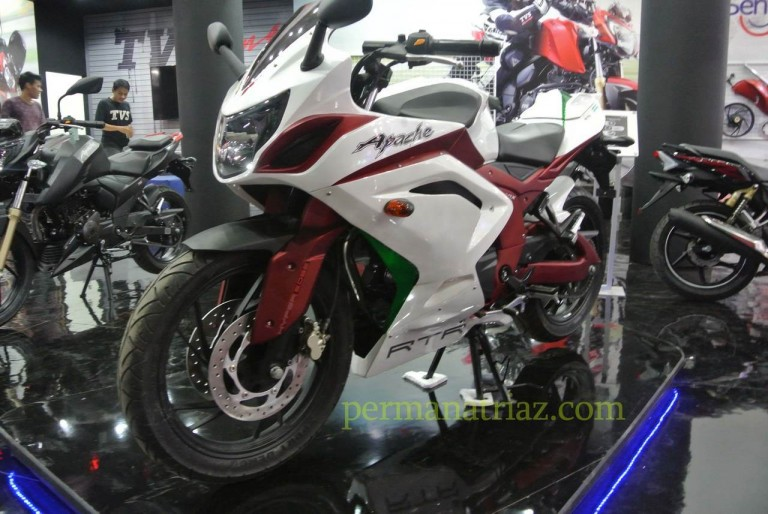 Modified TVS APache RTR 200 4v