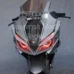 Modified CBR150R twin headlight