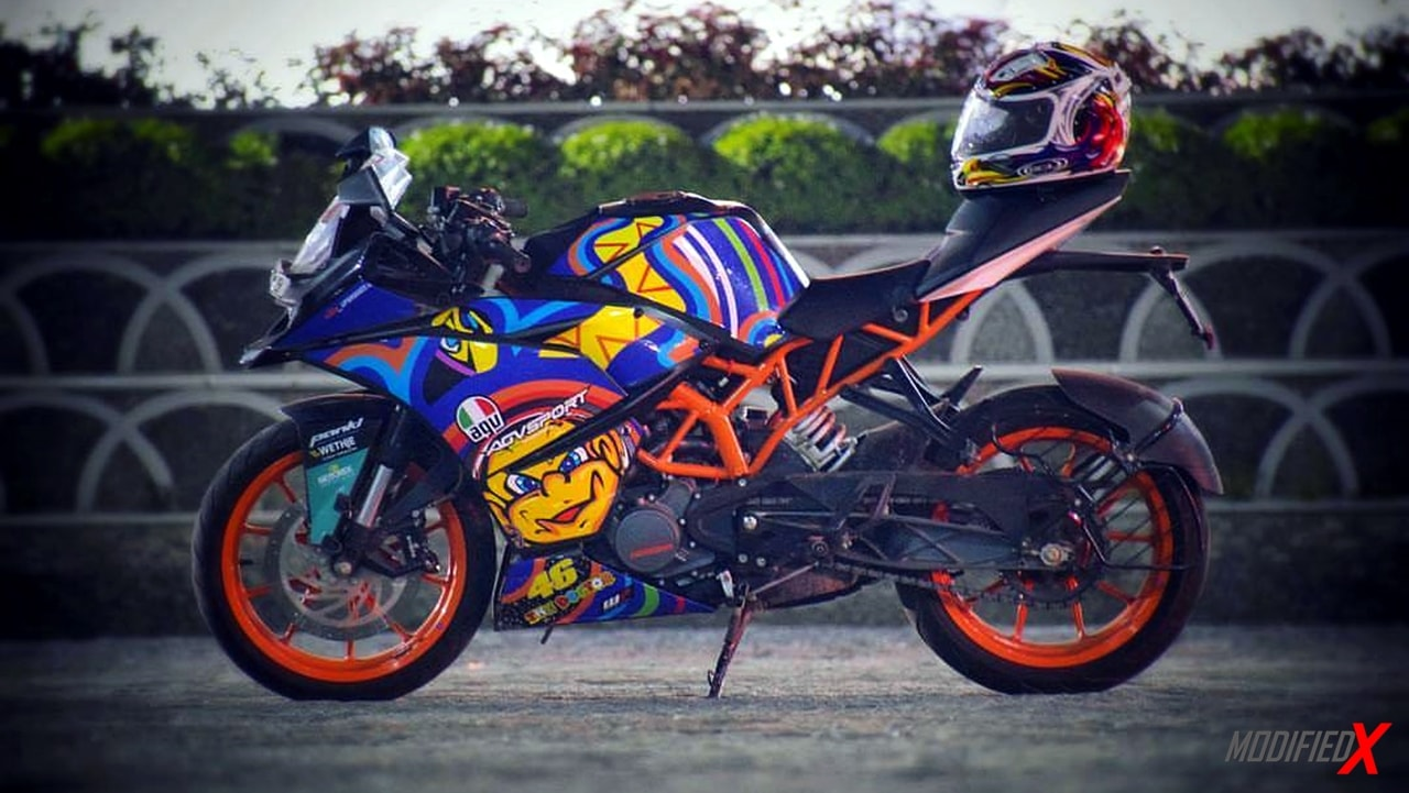 Modified KTM RC200