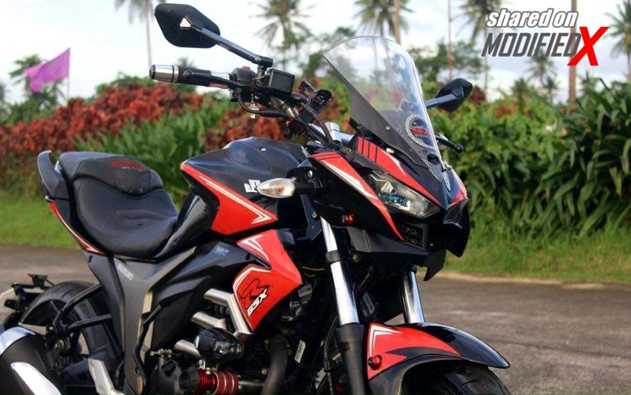 Custom Suzuki Gixxer 155