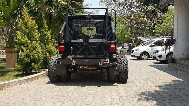 Custom Mahindra Thar 6 Wheel By Grizzly Motors Modifiedx