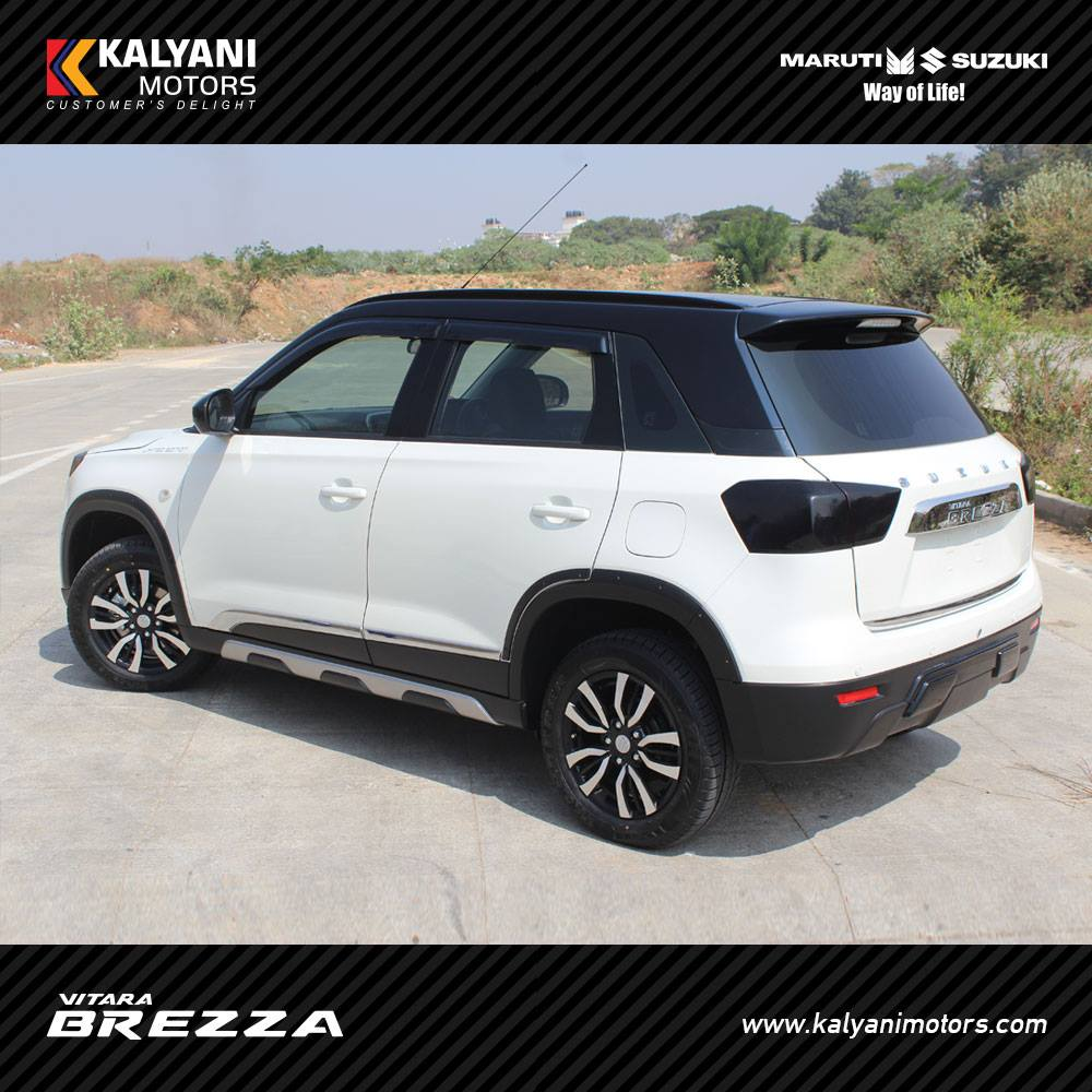 Custom Maruti Vitara Brezza By Kalyani Motors Modifiedx