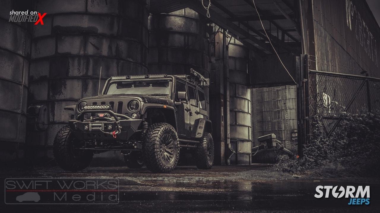 2016 Jeep Wrangler 4 Door Custom Mod Storm 10 Modifiedx