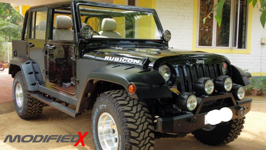 Mahindra Armada to Jeep Wrangler conversion – ModifiedX