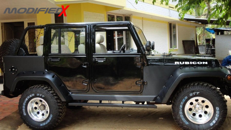 mahindra armada to jeep wrangler conversion modifiedx. Black Bedroom Furniture Sets. Home Design Ideas