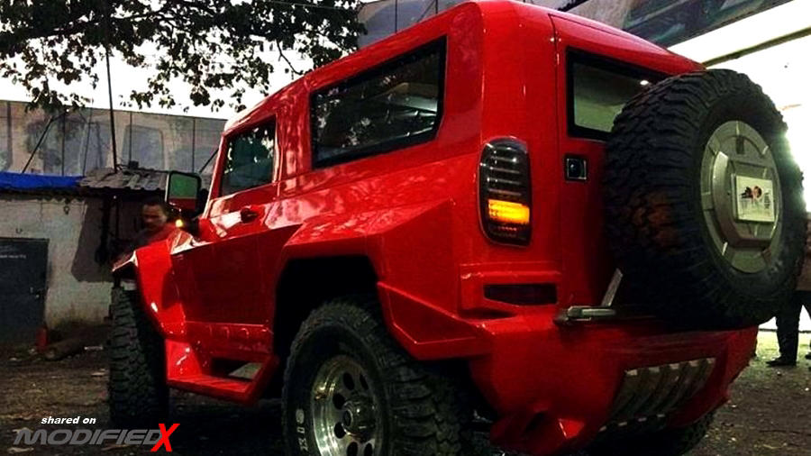 Thar modified to hummer