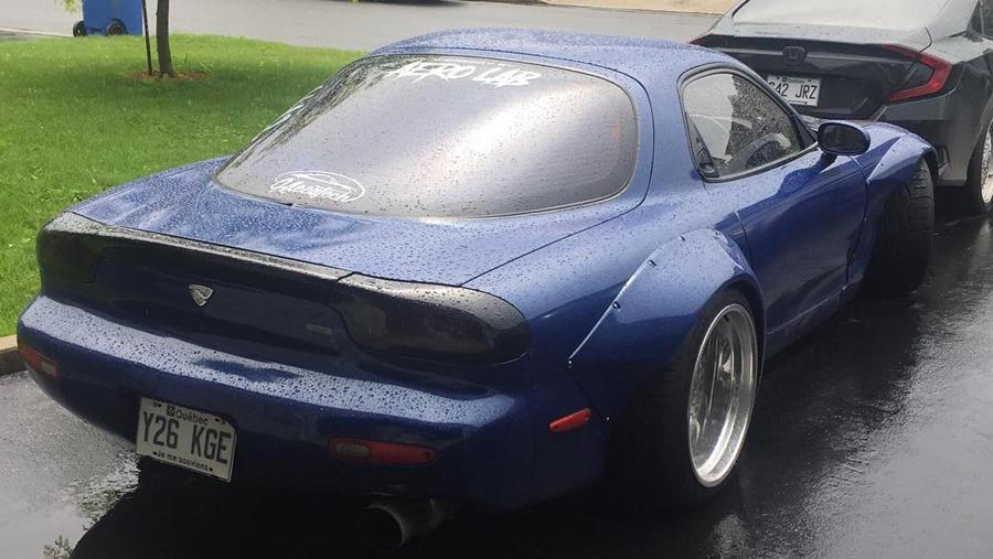 CUstom Mazda RX7
