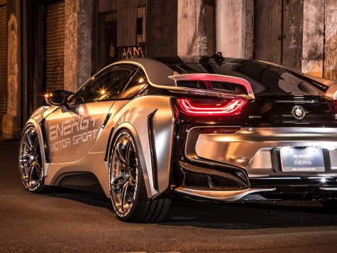BMW i8 evo japan