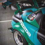 Mazda MX5 rear mod spoiler