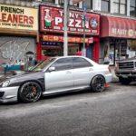 Subaru WRX STI modified