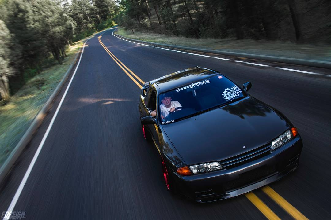 Modified Nissan GTR R32 Skyline black - ModifiedX