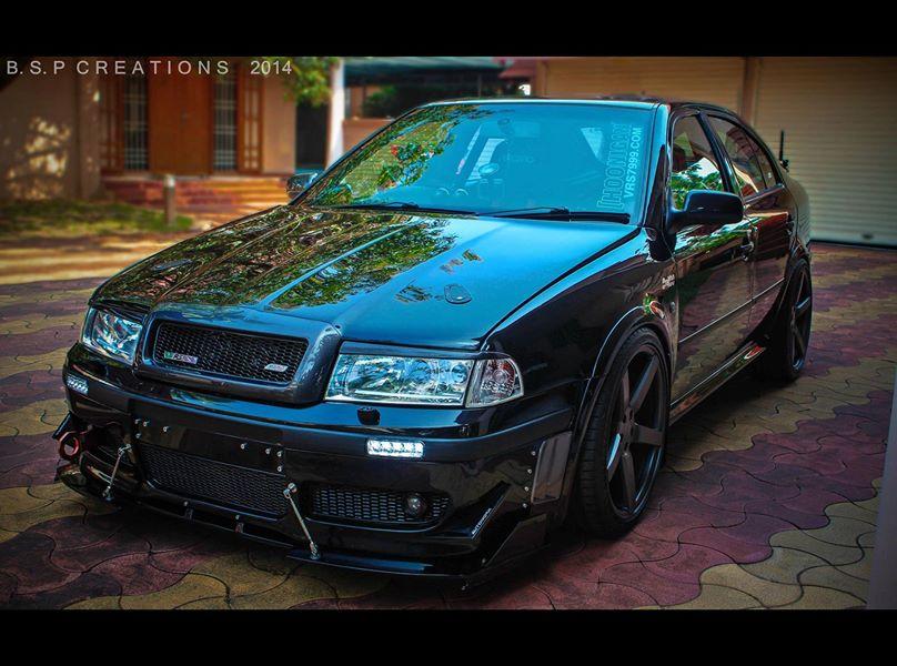 Skoda Octavia vrs 7999 'Hoonigan' - Modified cars Kerala ...