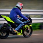 fluorescent green sticker Yamaha R15 V2