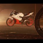 Yamaha R15 orange red alloy