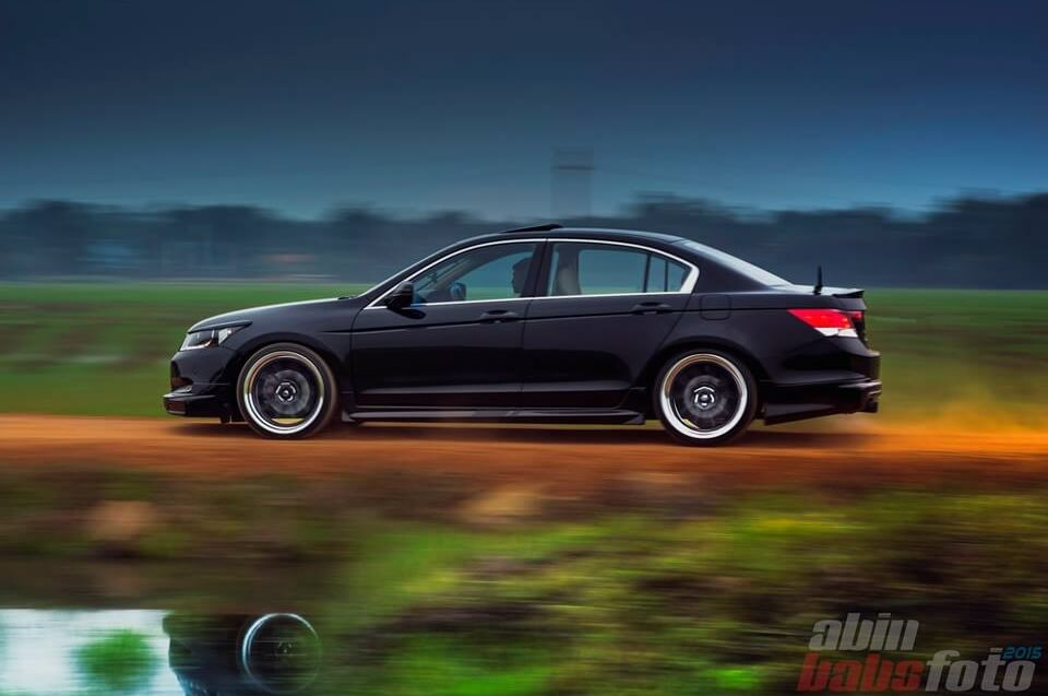 Modified Black Honda Accord 'Mugen' in India - ModifiedX