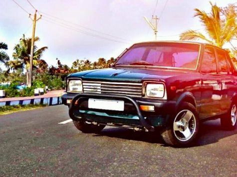 Modified old Maruti 800
