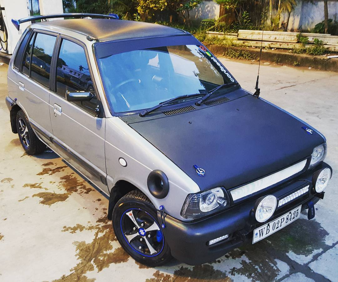 Modified Maruti 800