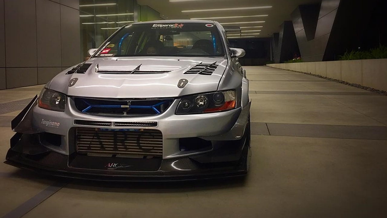 Evo 9 modified