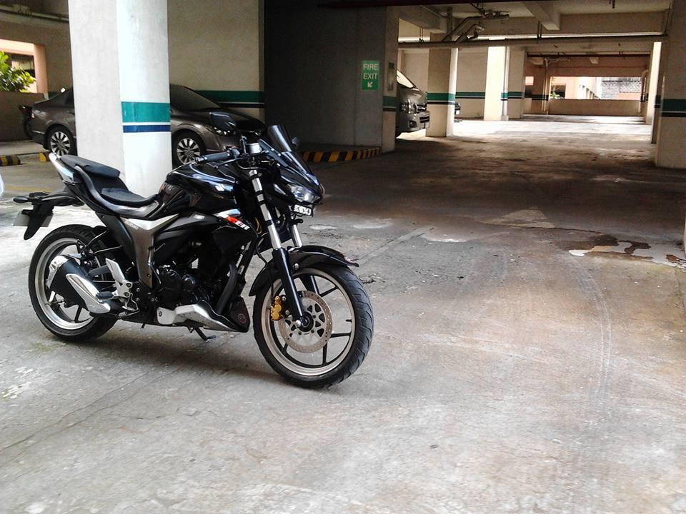 Suzuki Gixxer modification India