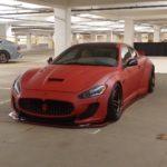 Slammed Maserati GranTurismo