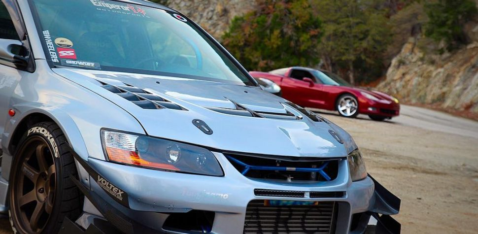 Evo IX modified