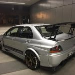 Modified Mitsubishi Evo IX rear