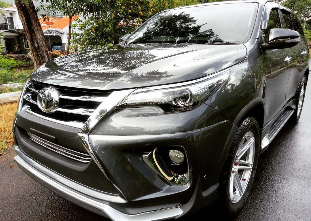 2017 Toyota Fortuner Modified New Body Kit Modifiedx