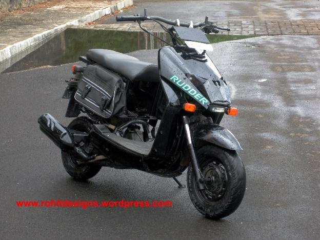 Honda Dio Modified Rudder India Modifiedx