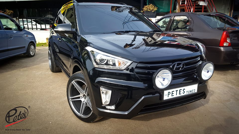 Modified Hyundai Creta