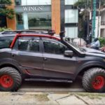 Mahindra XUV500 tractor tires