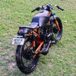 Yamaha RX 135 modifications