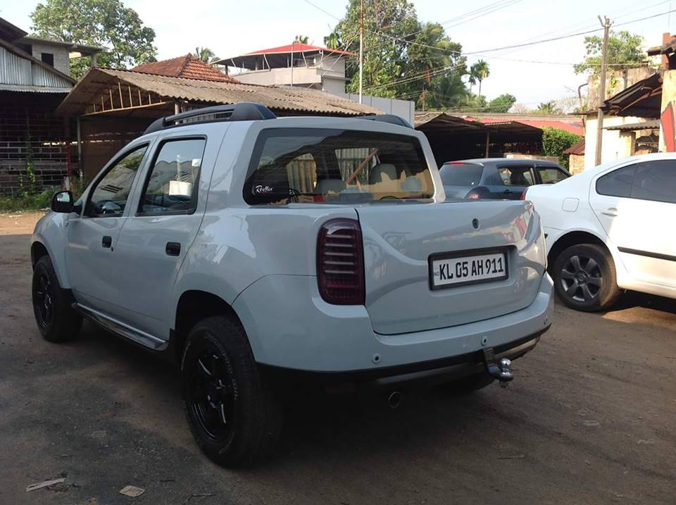 Renault Duster Modified To Oroch Pick Up Kerala Modifiedx