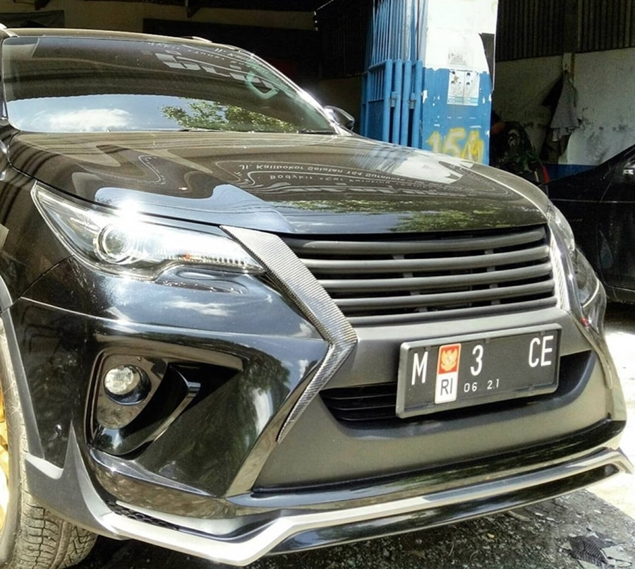 New Fortuner modified front