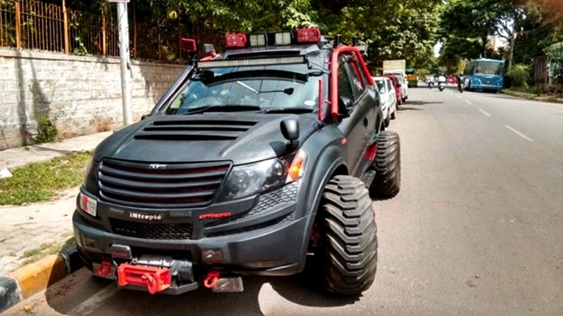 Modified Mahindra XUV500 Bangalore