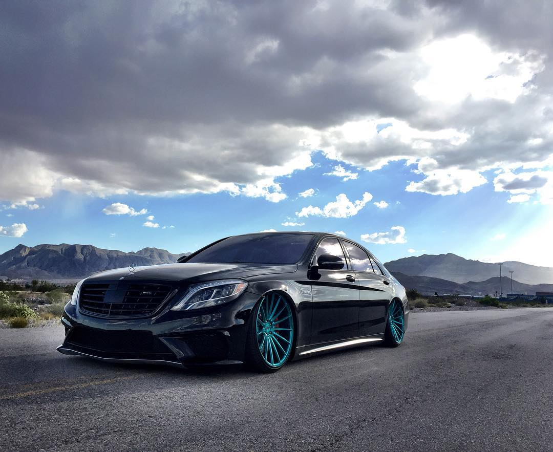 mercedes s63 amg slammed vossen stance modifiedx. Black Bedroom Furniture Sets. Home Design Ideas