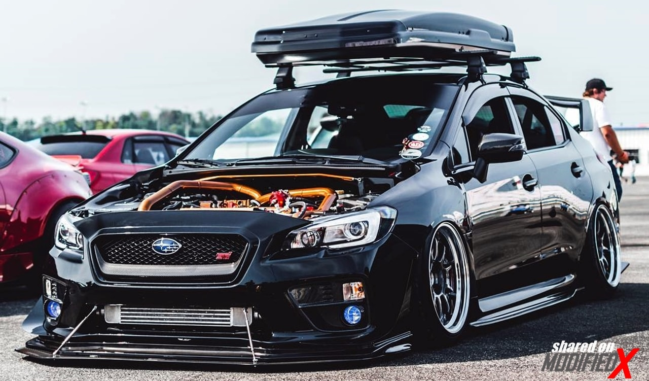 Subaru WRX modified