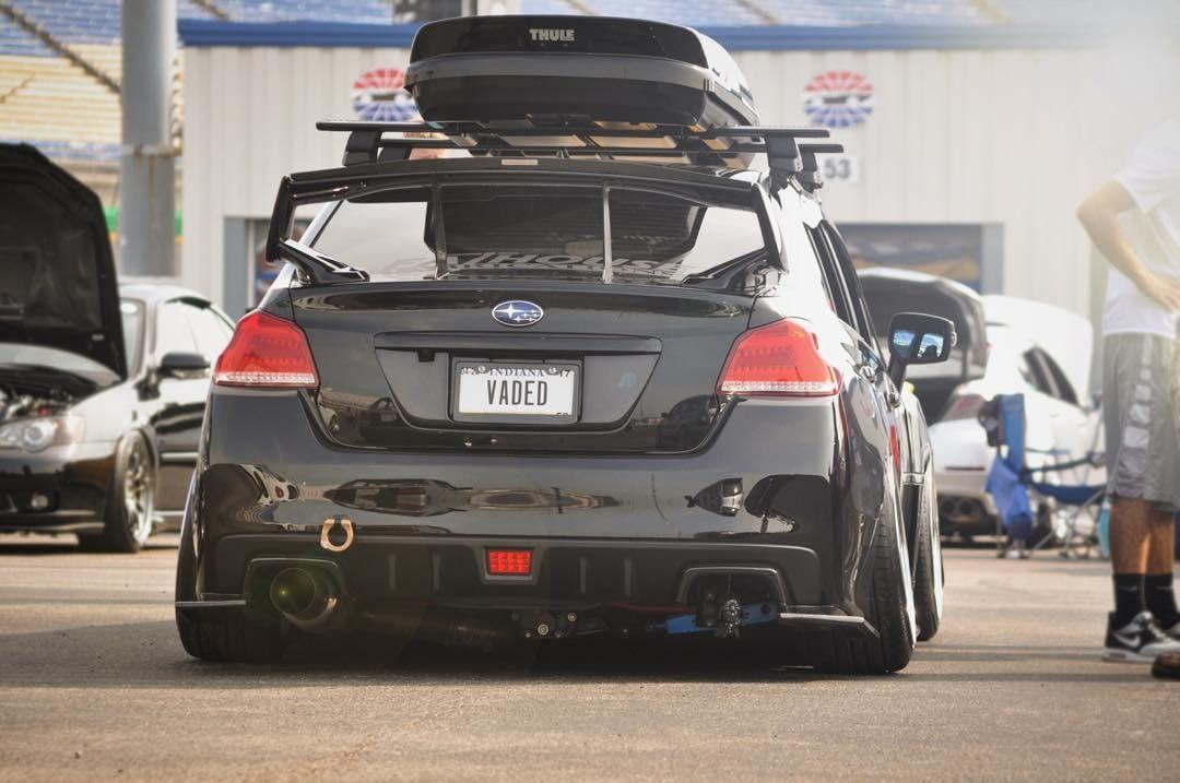 Custom Subaru WRX STi (modified) black - ModifiedX